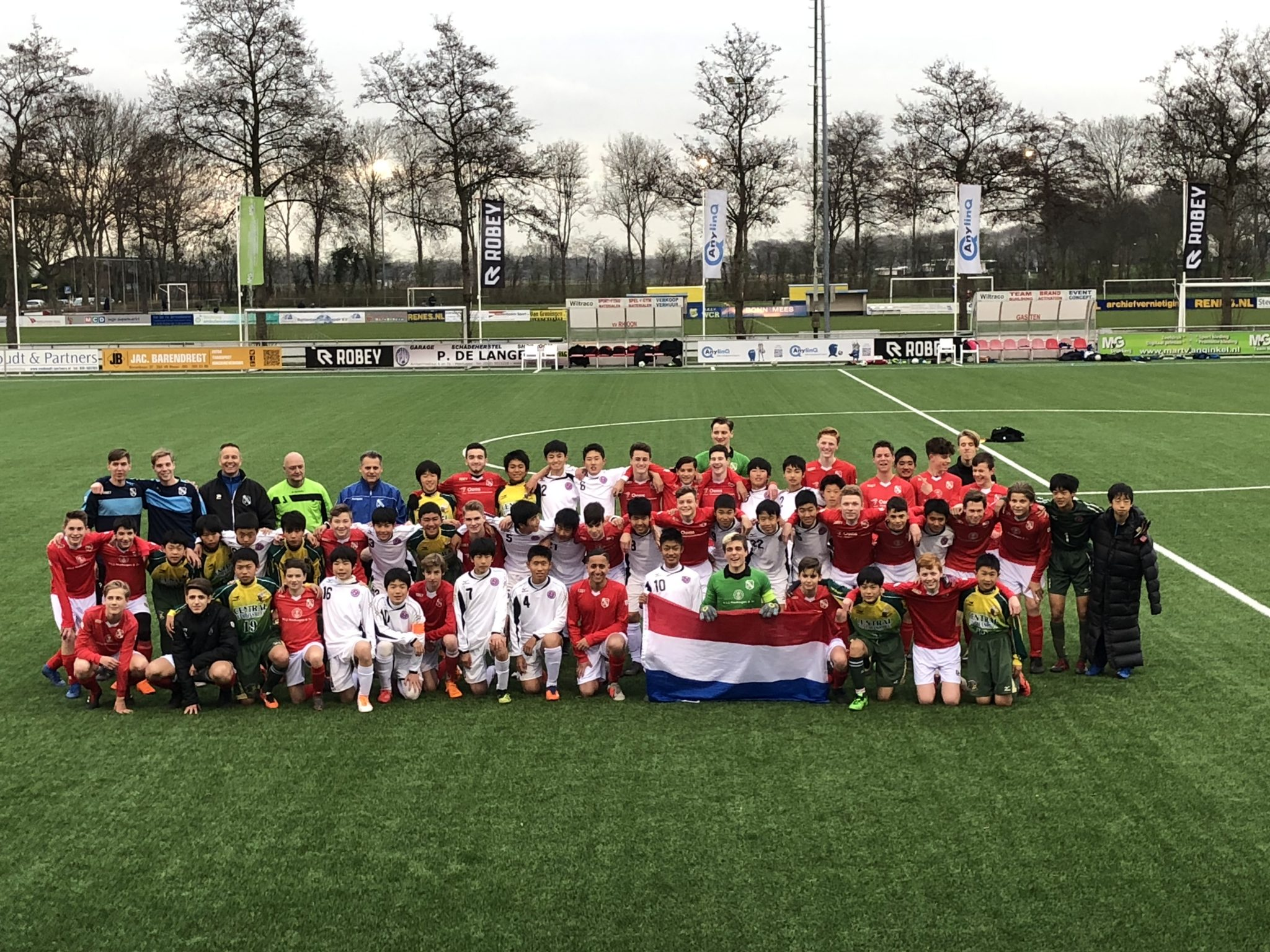 Bezoek Japanse teams een succes