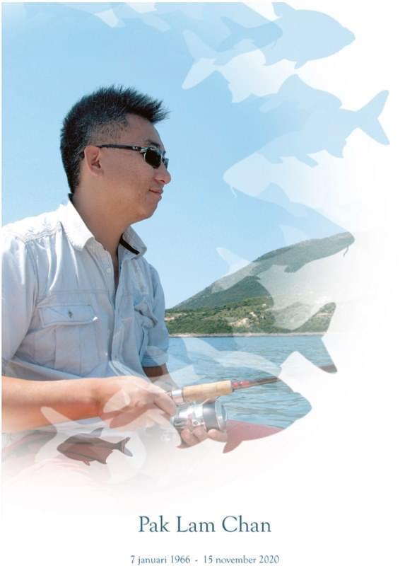 Bericht overlijden Pak Lam Chan