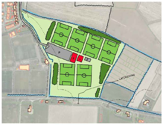 Nieuwe locatie sportpark De Omloop