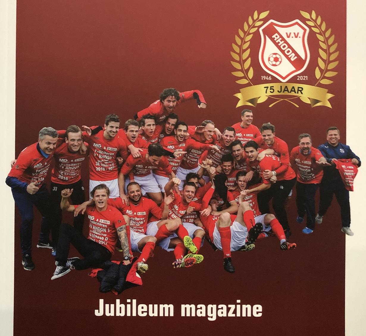 Uitreiking 1e Jubileummagazine 18 september