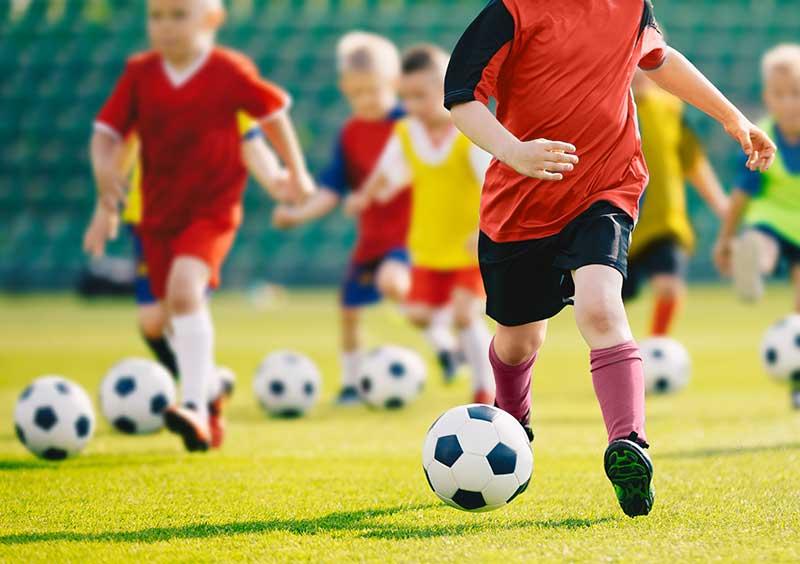 Voetbal voor de jongsten begint weer…..